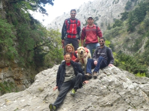 Garganta de Imbros, en la  región de Sfakia, Chania